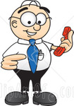 17254-Clipart-Picture-Of-A-Male-Caucasian-Office-Nerd-Business-Man-Mascot-Cartoon-Character-Holding-A-Telephone.jpg